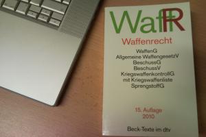 Buch Waffenrecht